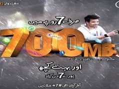 Ufone Offers Haftawaar Lightning Fast 3G Internet Package