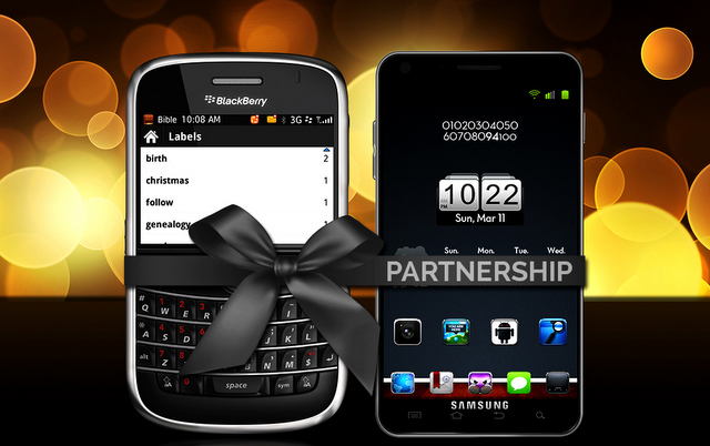 Blackberry and Samsung May Become Partners Again