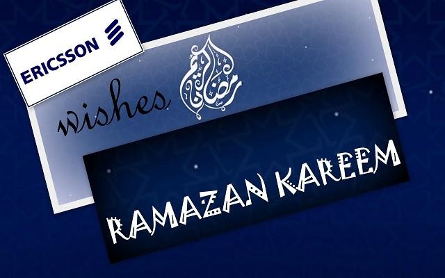 Ericsson Wishes Ramazan Kareem Mubarak