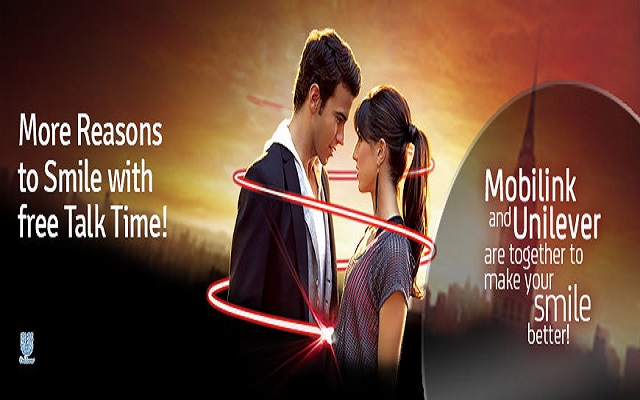 Mobilink Closeup Offer Makes Your Smiles Better
