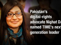 Nighat Added to the Generation Leaders List of TIME Magazine