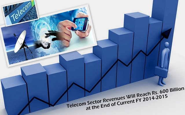 Telecom Sector Revenues will Reach Rs 600 billion