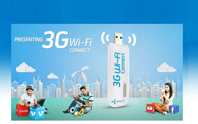 Telenor Launches 3G Enabled Wingle and Dongle