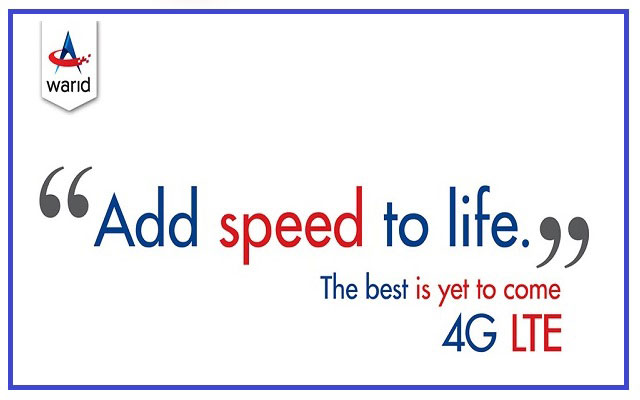 Warid 4G LTE Wingle TVC 2015