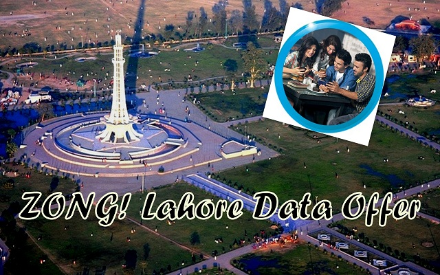 Zong Location-Based Lahore Data Offer