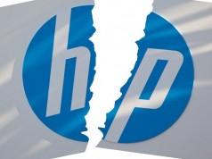 Hewlett-Packard Files to Split in Two