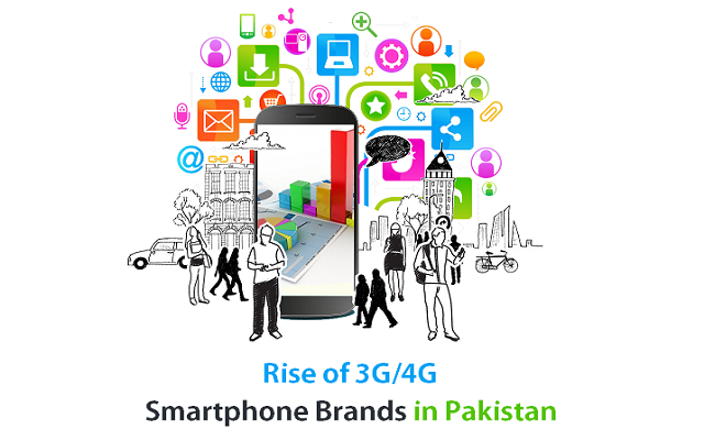 Rise of 3G and 4G Smartphone Brands in Pakistan