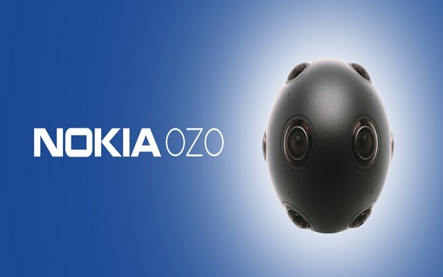 Nokia Launches Ozo-A Virtual Reality Camera for Filmmakers