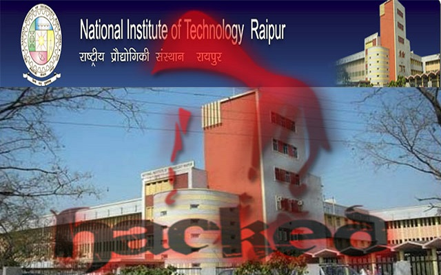Pakistani Hacker Hacks Chhattisgarh NIT Website