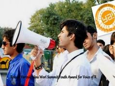 Rohayl Varind, A Pakistani Wns World Summit Youth Award