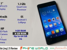 QMobile Linq L15 Review