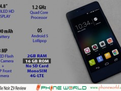 QMobile Noir Z9 Review