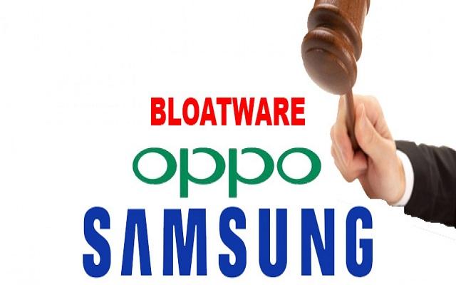 Shanghai Commission Files Case Against Samsung, Oppo for Bloatware