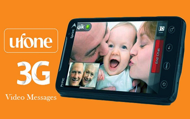 Ufone Introduces Video Messaging Service for its 3G Customers