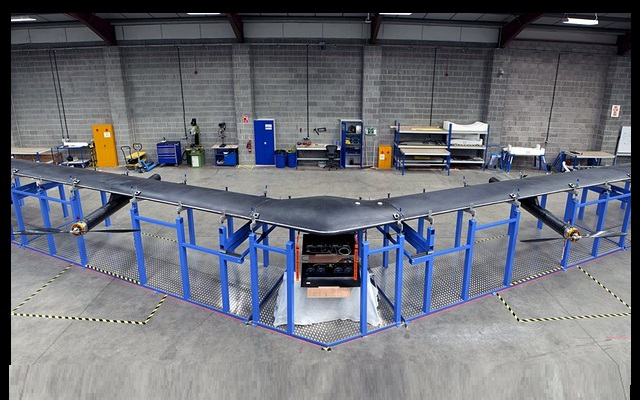 Facebook's Solar-Powered Internet Drone Aquila Ready for Tests