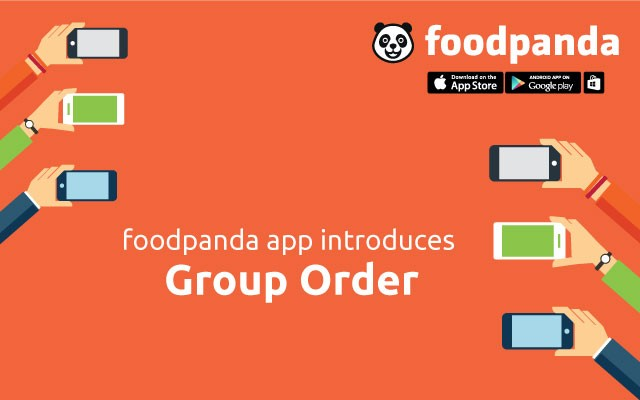Foodpanda Introduces Group Order Feature in Mobile App for iOS, Android and Windows Phone Devices