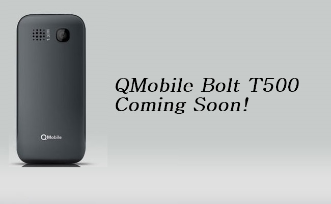 QMobile to Launch Bolt T500 with Powerful 1.2GHz Quad Core Processor