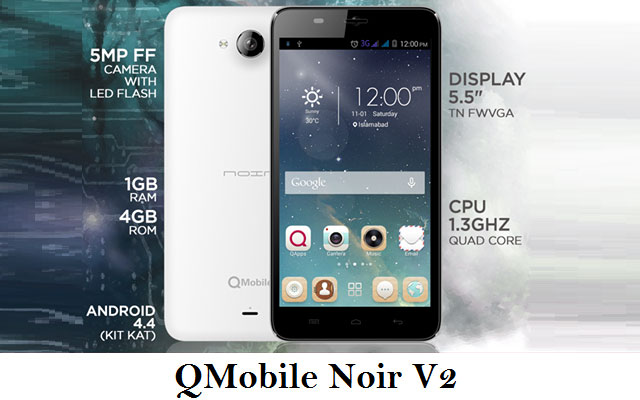 QMobile Introduces V2 with as Low Price as Rs.9900