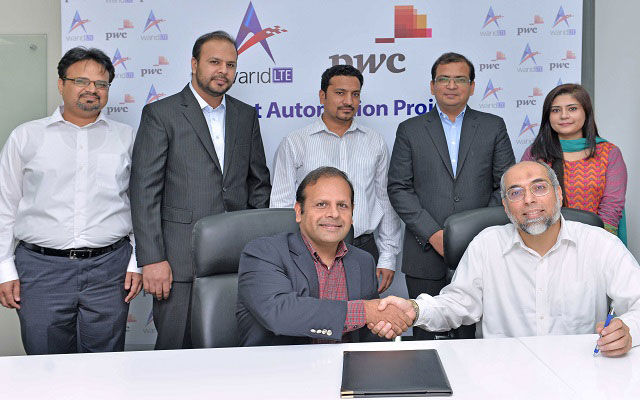 Warid, PWC Signs Agreement for Budget Control Automation Solution