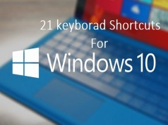 21 keyboard shortcuts You Should Know for Windows 10