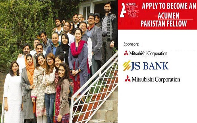Acumen Offers Pakistan Fellows Program for Emerging Leaders