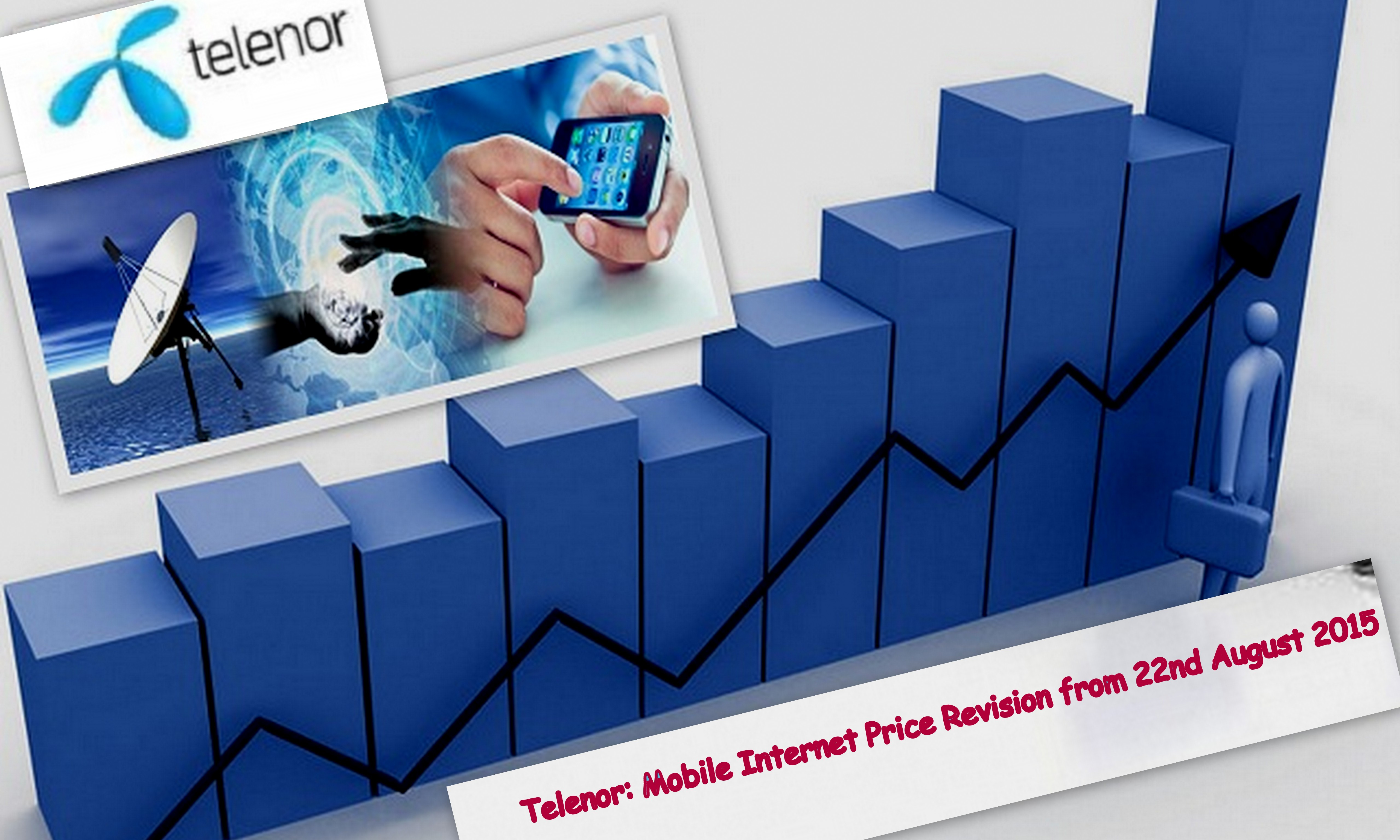 Telenor to Increase Tariffs from August 22 Due to the Latest Imposition of Internet Tax