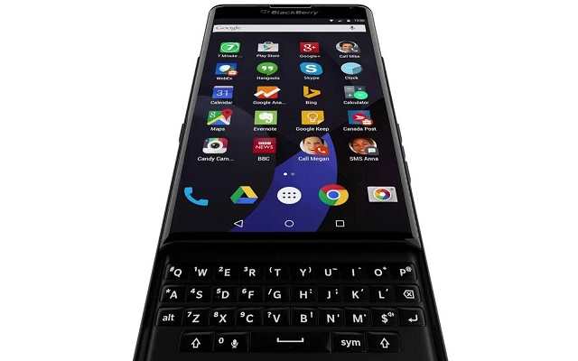 BlackBerry Introduces Android Slider Phone-Franken BlackBerry