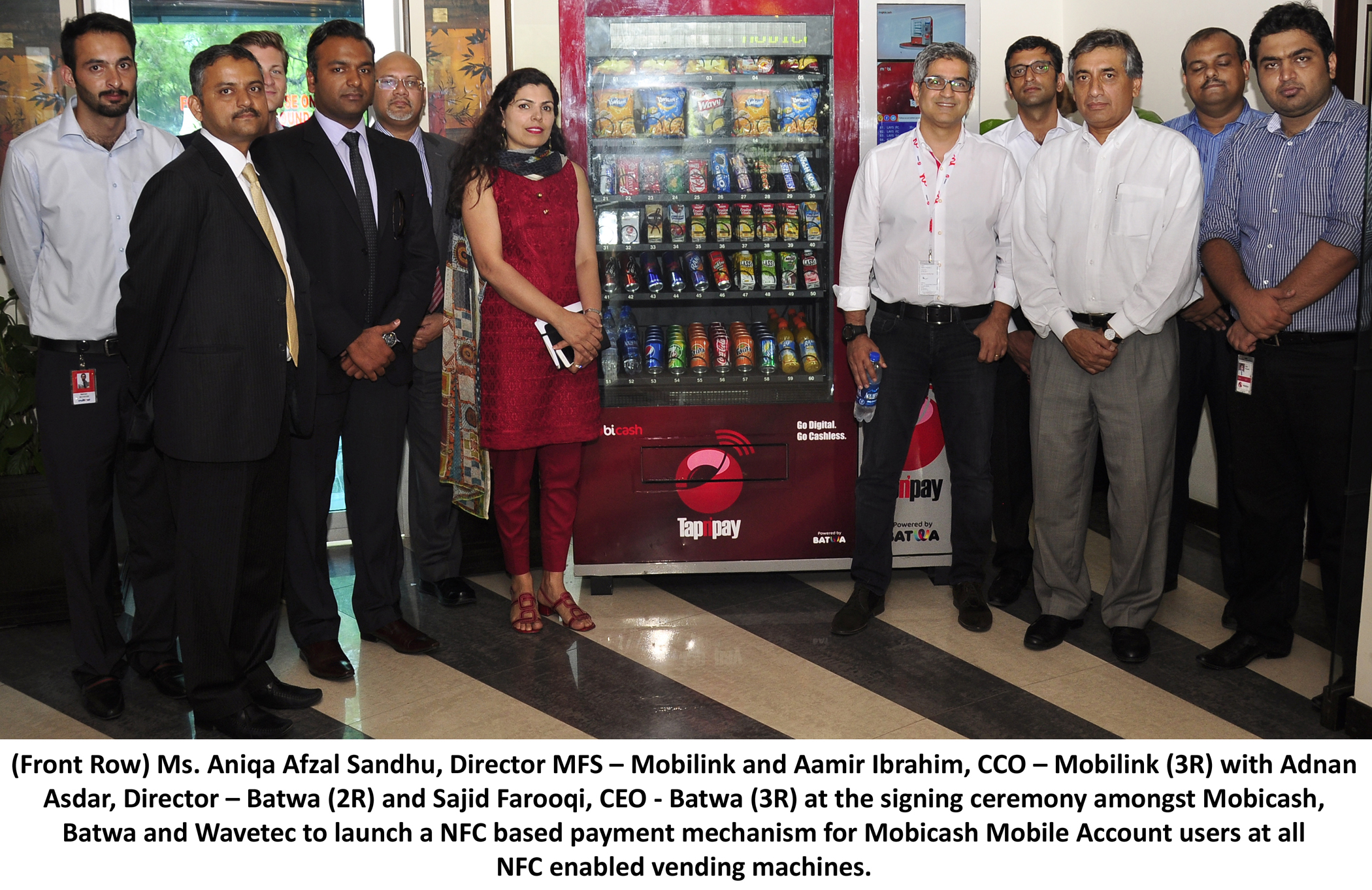 Mobicash Becomes First Mobile Financial Services Provider to Offer NFC Payment Solutions in Pakistan