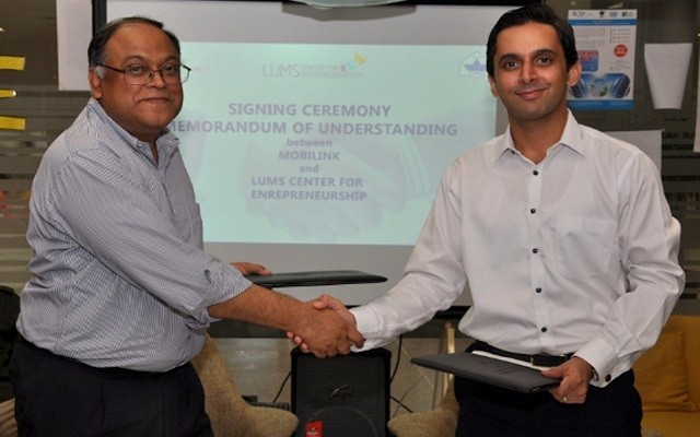 Mobilink-partners-with-LUMS-to-enhance-entrepreneurial-eco-system