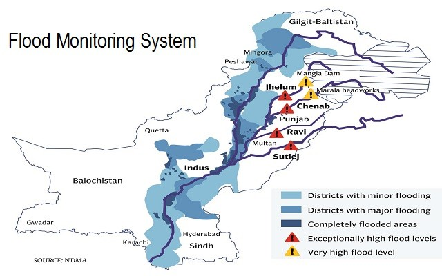 PITB Introduces Flood Monitoring System via m-Governance