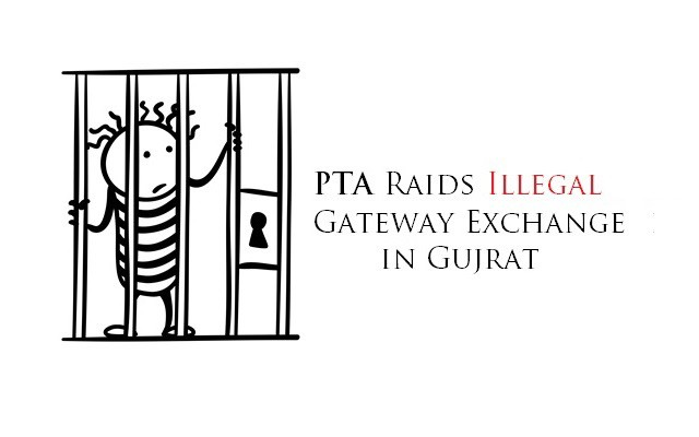 PTA Raids Illegal Gateway Exchange in Gujrat