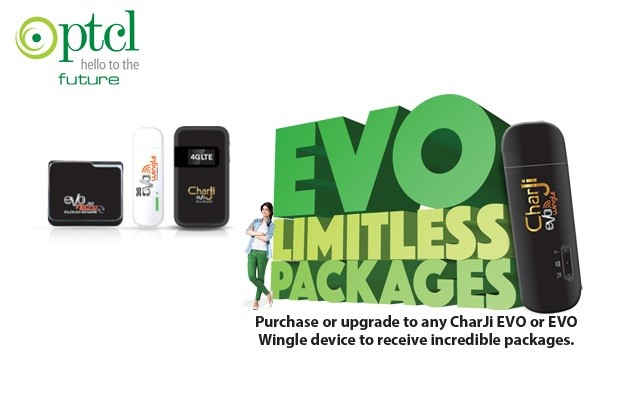 PTCL introduces Limitless Packages for Char Ji and EVO Customers