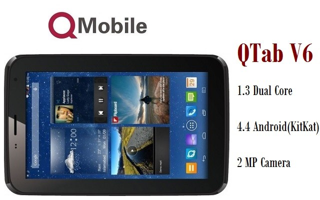 QMobile Inroduces V6 Tab at an Affordable Price of Rs 10900