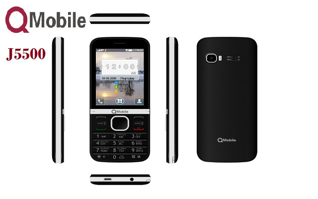 QMobile Launches Tri-SIM Mobile J5500 with as Low Price as Rs 2999