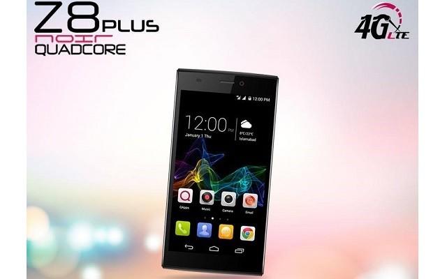 QMobile Introduces Stylish 4G LTE Supported Phone- Noir Z8 Plus