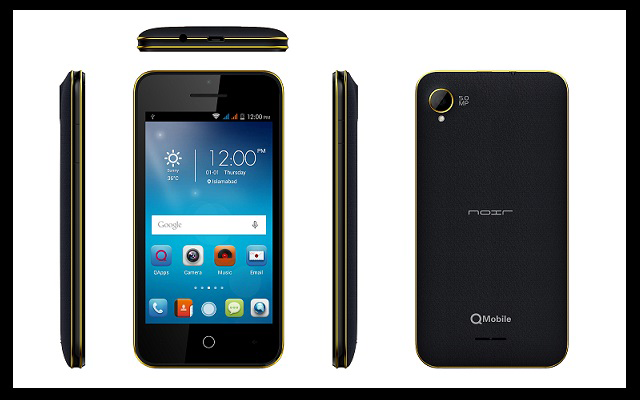 QMobile to Introduce Noir M82 with 4 Inch Display