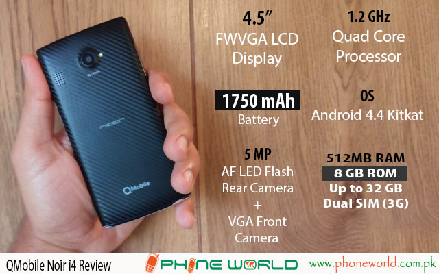 QMobile Noir i4 Review