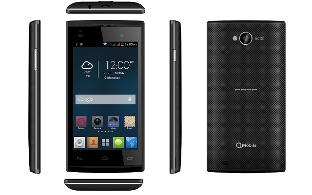QMobile Noir X20 Comes with 5MP Camera and Dual core