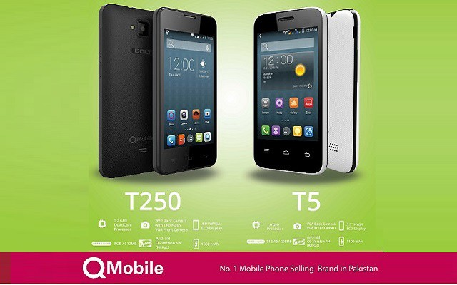 Experience the Thrill of Blazing Fast 3G Internet on New Bolt T5 of QMobile
