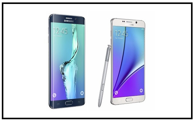 Samsung Launches Two Bold and Big Screen Smartphones: Galaxy Note5 and S6 Edge+