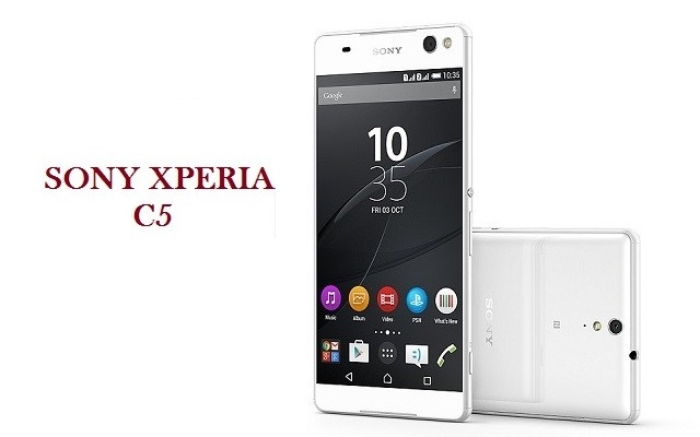 Sony Launches Xperia C5 Ultra Dual Selfie-Focused Smartphone