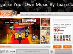 Taazi Pakistan's First Legal Music Website
