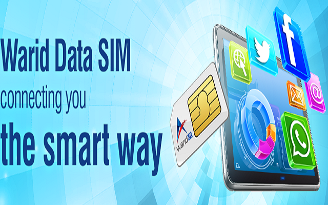 Warid Introduces Data SIM to Provide Online Connectivity
