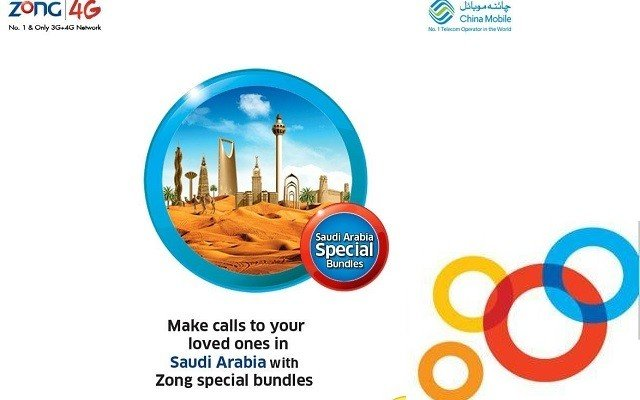 Zong Introduces Special Call Bundles for Saudi Arabia