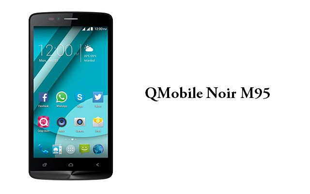 QMobile Presents Stylish Noir M95 for Rs 10500 Only