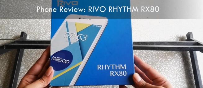 rivo rhythm rx80