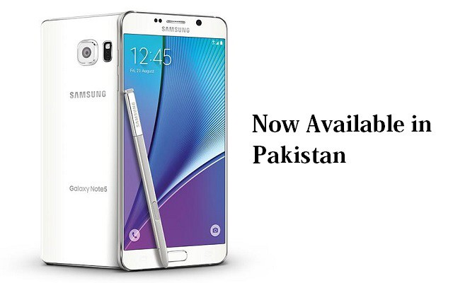 Finally the Wait is Over as Samsung Galaxy Note 5 Arrives in Pakistan