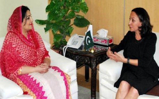GM Microsoft NEPA Calls on Ms. Anusha Rehman Regarding the Development of IT Sector in Pakistan