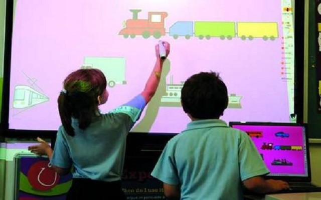 KPK Govt. Installed Interactive Whiteboards at 100 Govt Schools