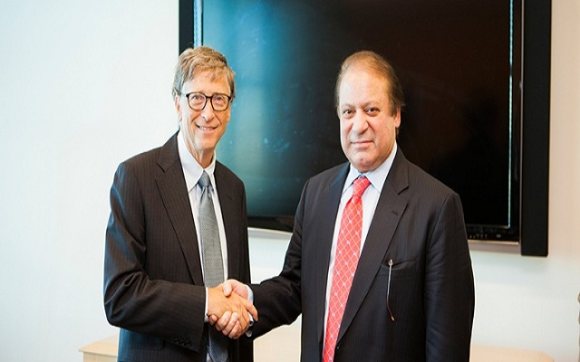 Bill Gates Met PM Nawaz Sharif to Discuss Progress on Polio Eradication